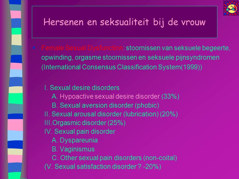 Hersenen en seksualiteit bij de vrouw