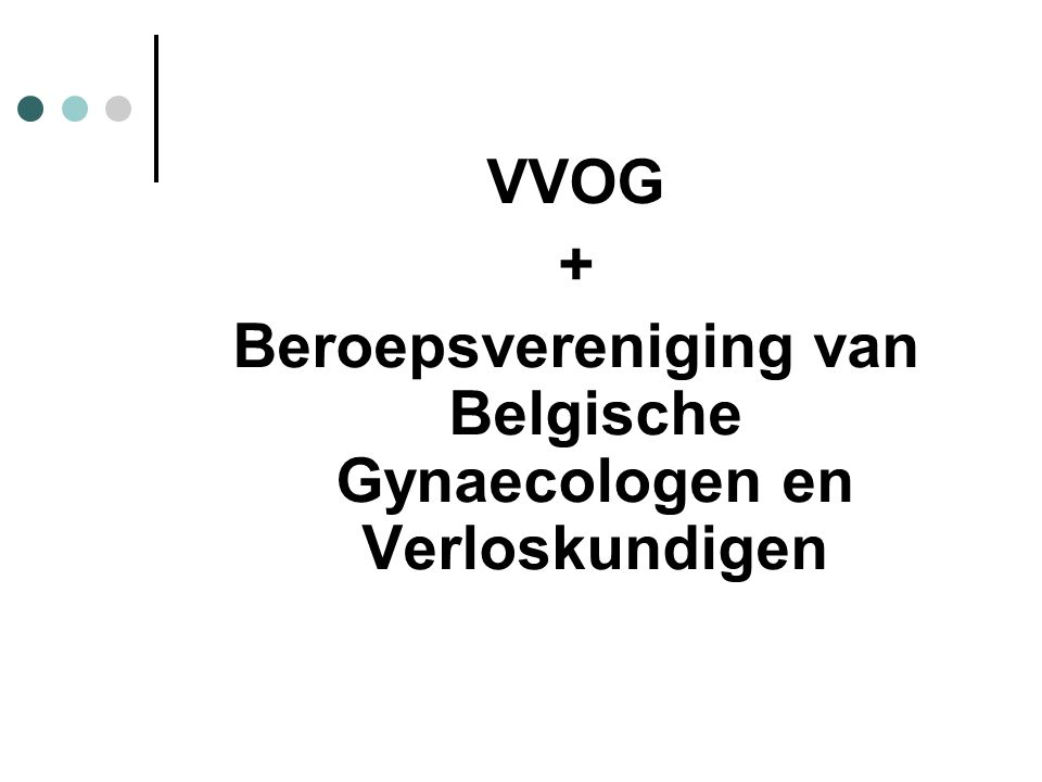 Beroepsvereniging van Belgische Gynaecologen en Verloskundigen