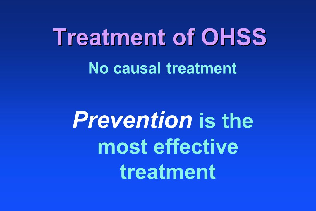 Prevention is the most effective treatment