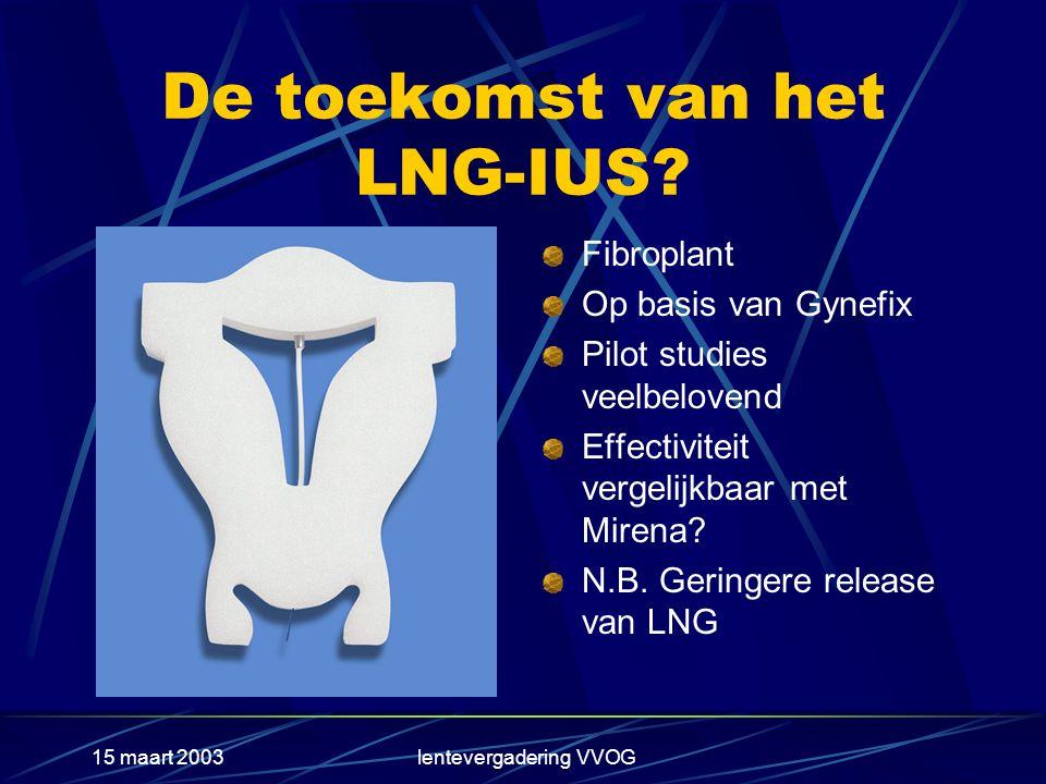 De toekomst van het LNG-IUS