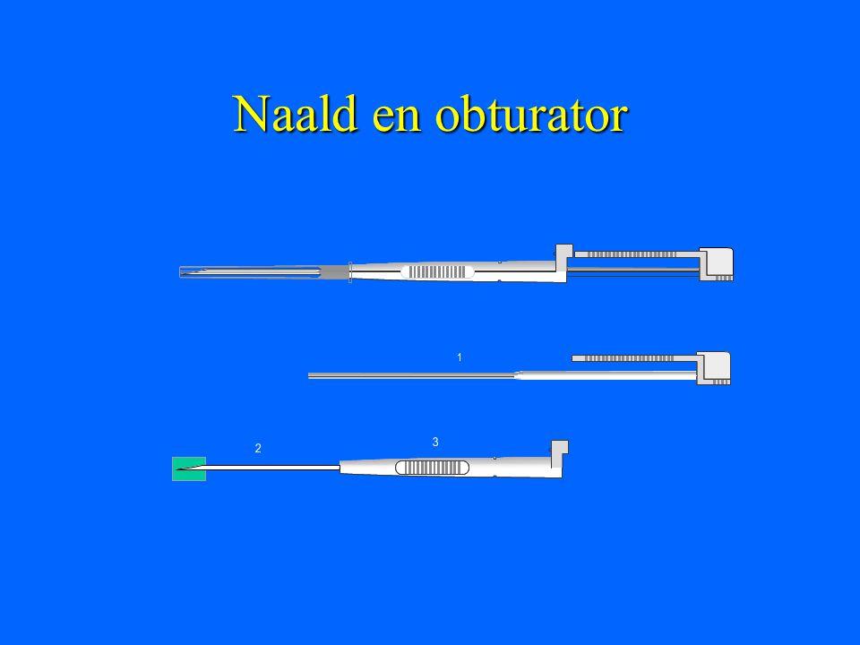 Naald en obturator