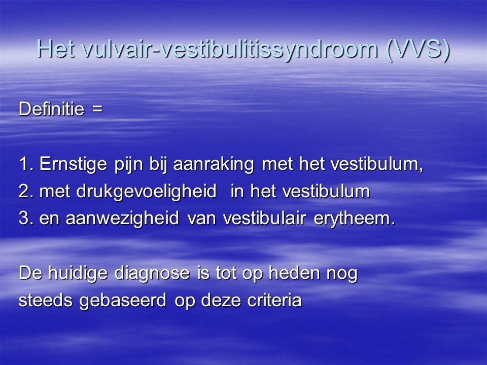 Het vulvair-vestibulitissyndroom (VVS)