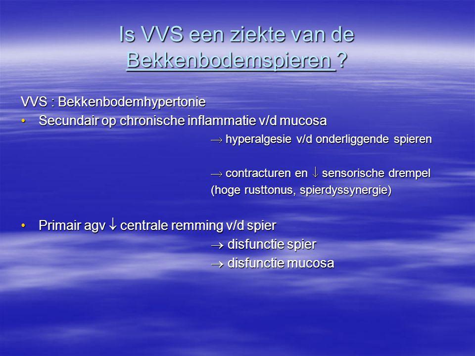 Is VVS een ziekte van de Bekkenbodemspieren