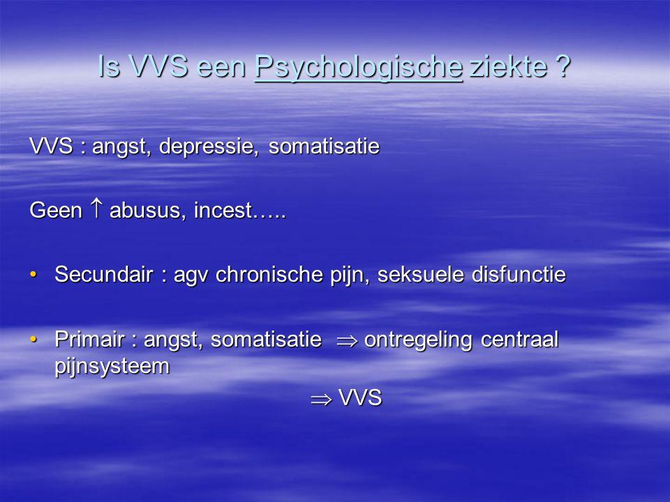 Is VVS een Psychologische ziekte
