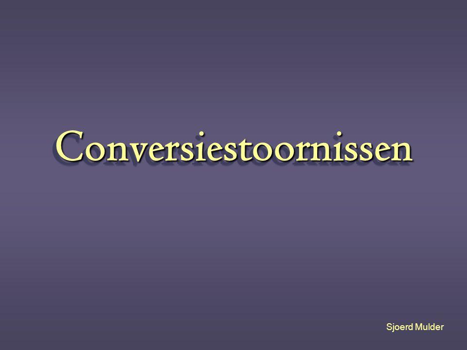 Conversiestoornissen