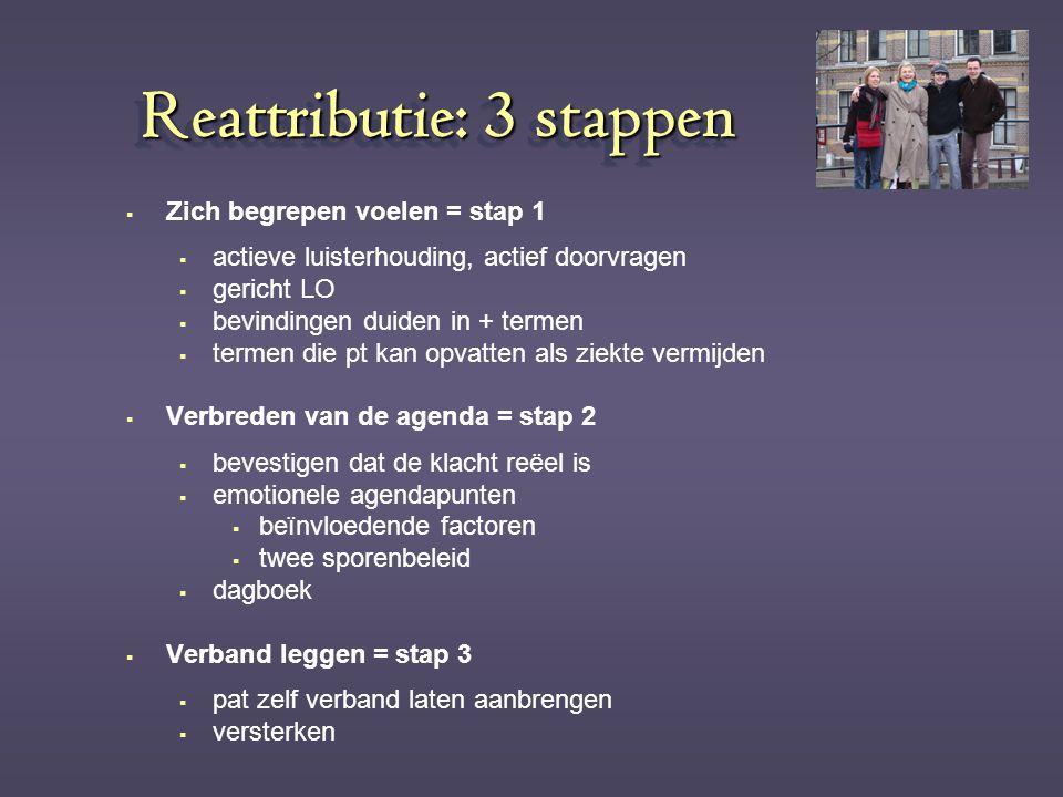 Reattributie: 3 stappen