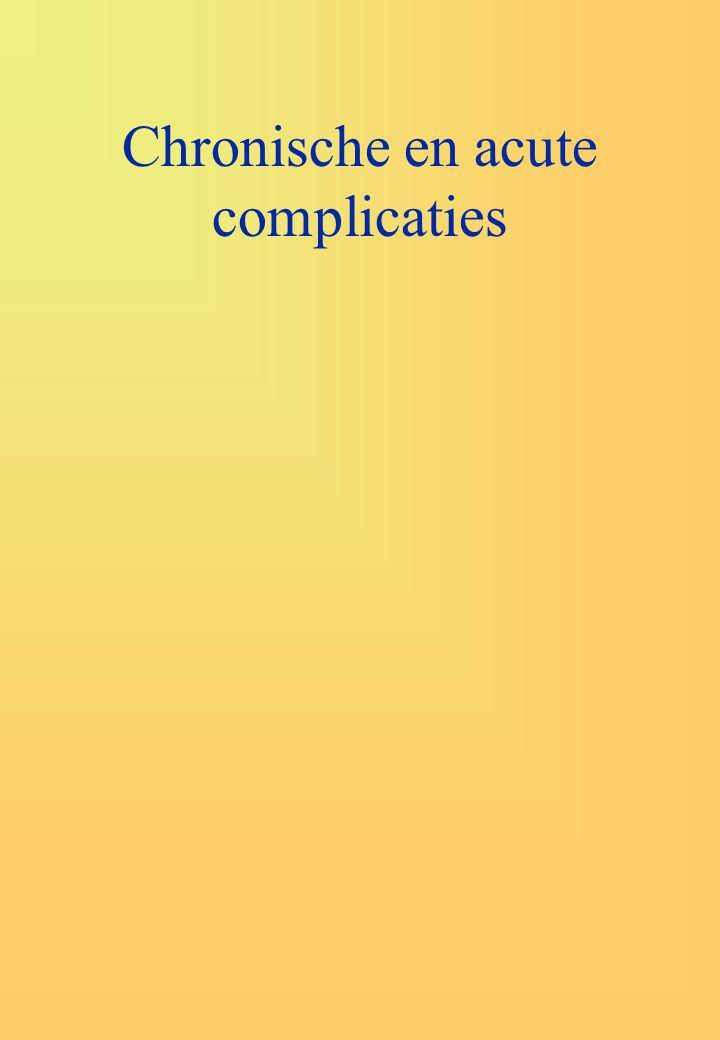 Chronische en acute complicaties