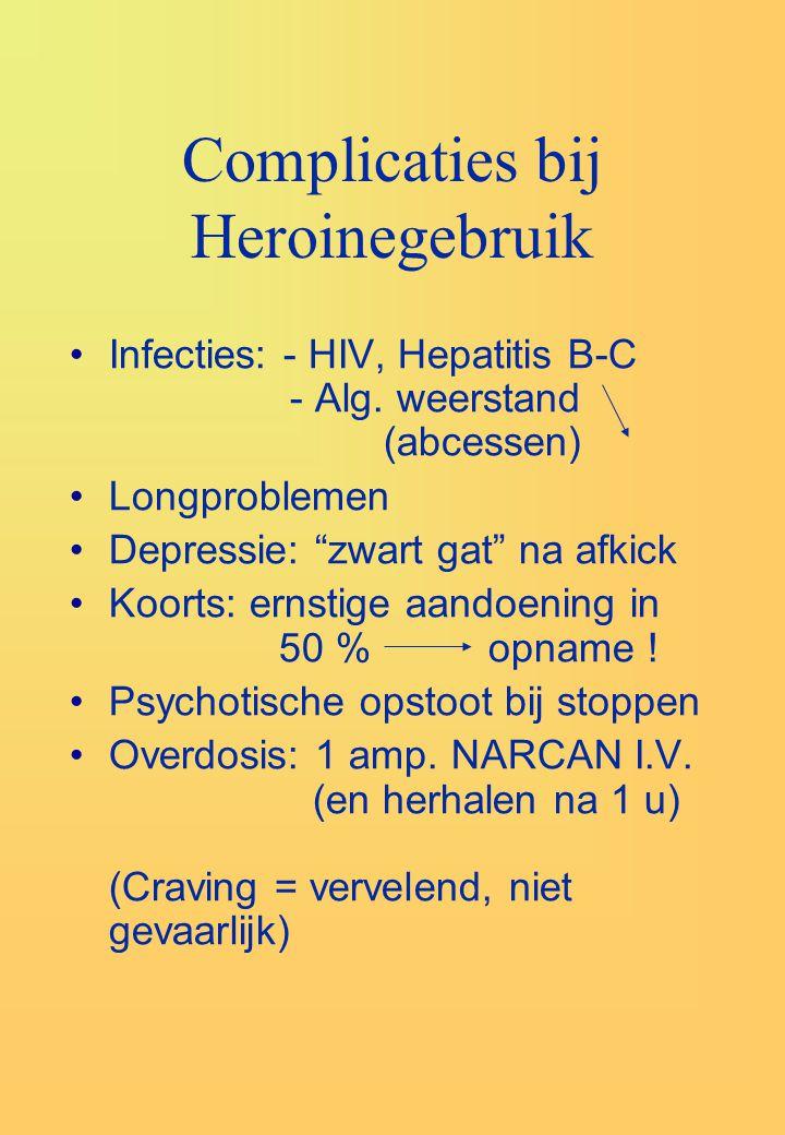 Complicaties bij Heroinegebruik