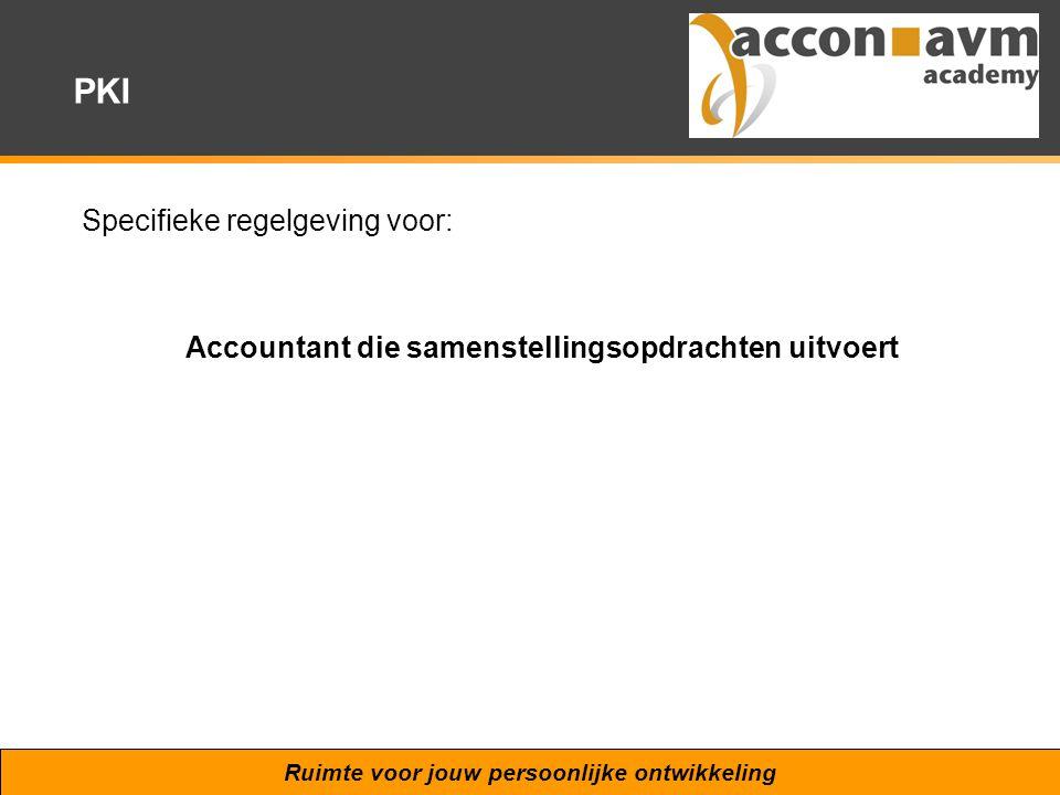 Accountant die samenstellingsopdrachten uitvoert