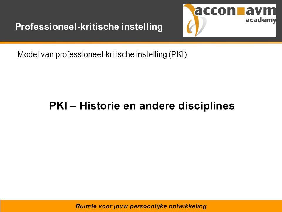 PKI – Historie en andere disciplines