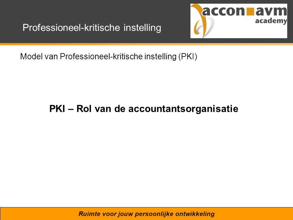 PKI – Rol van de accountantsorganisatie