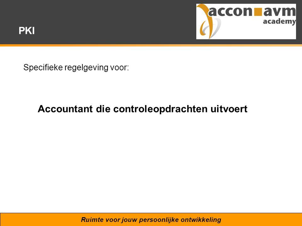 Accountant die controleopdrachten uitvoert