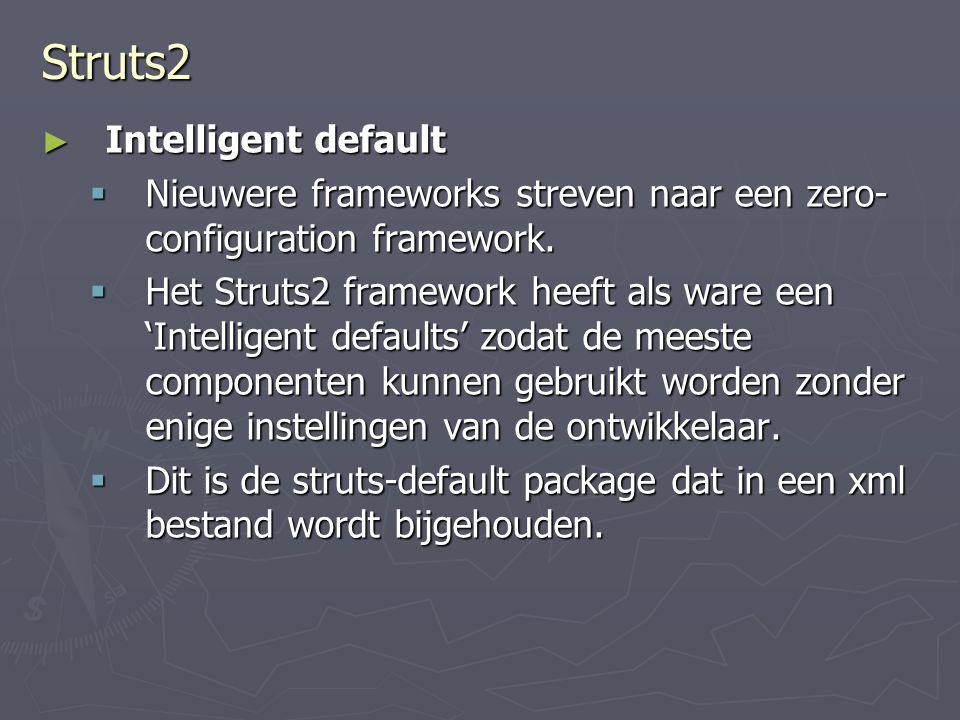 Struts2 Intelligent default