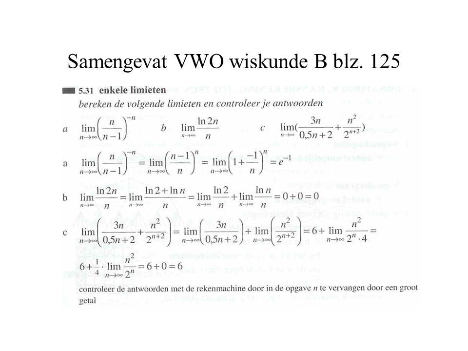 Samengevat VWO wiskunde B blz. 125