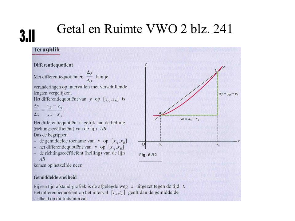Getal en Ruimte VWO 2 blz. 241 3.II