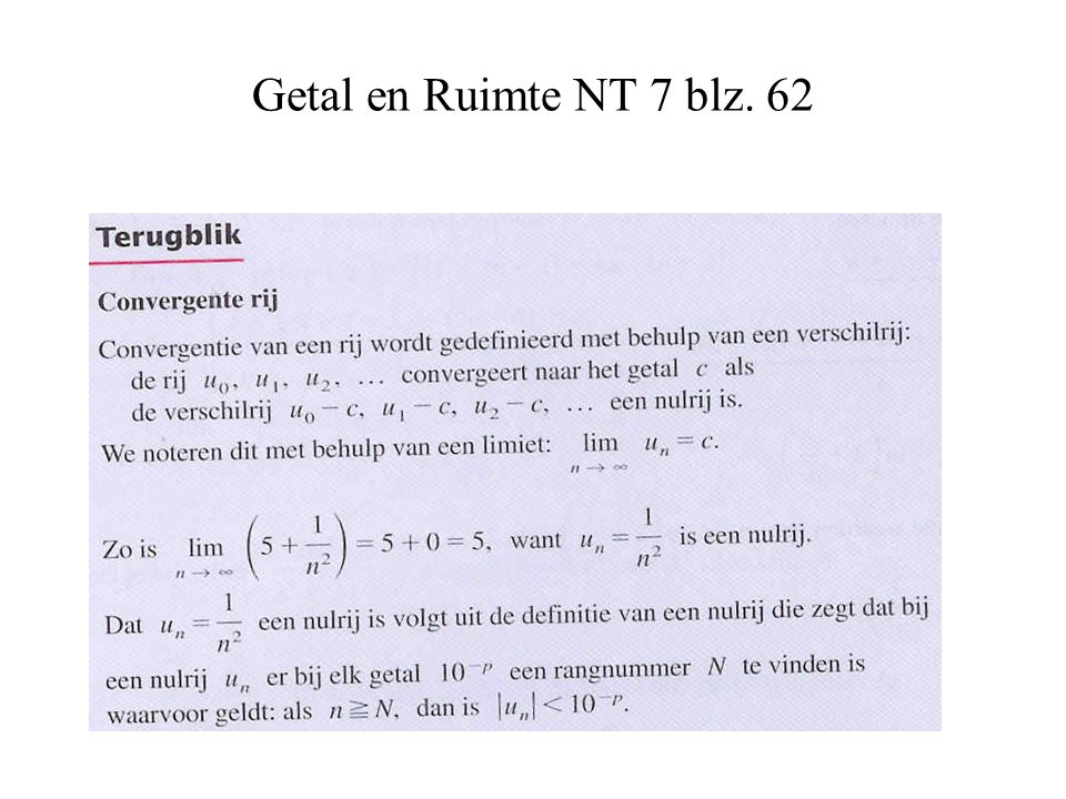 Getal en Ruimte NT 7 blz. 62