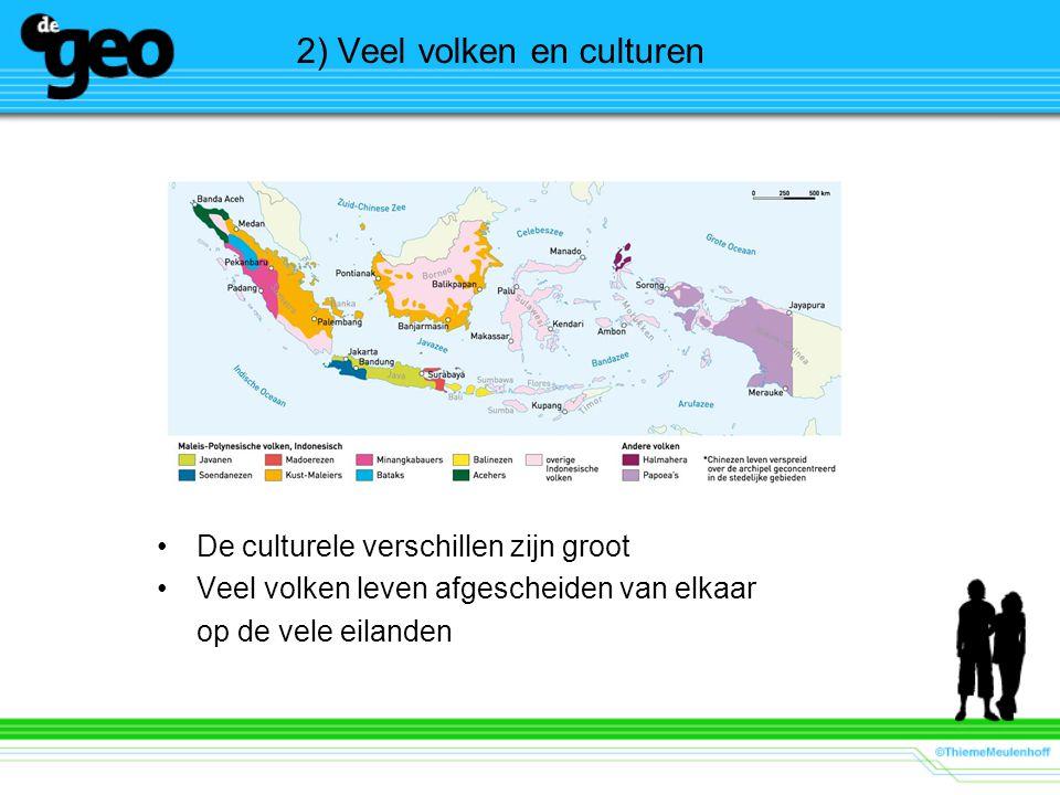 2) Veel volken en culturen