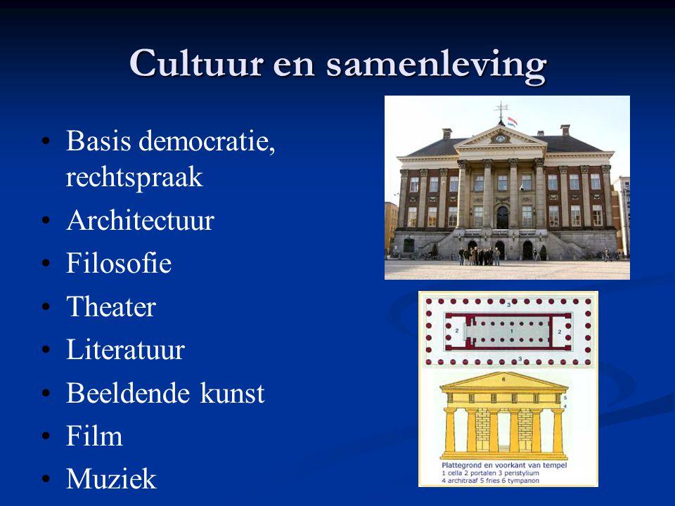 Cultuur en samenleving
