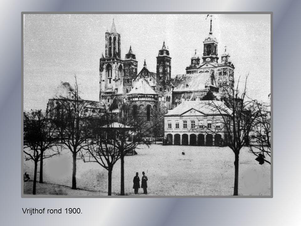 Vrijthof rond 1900.