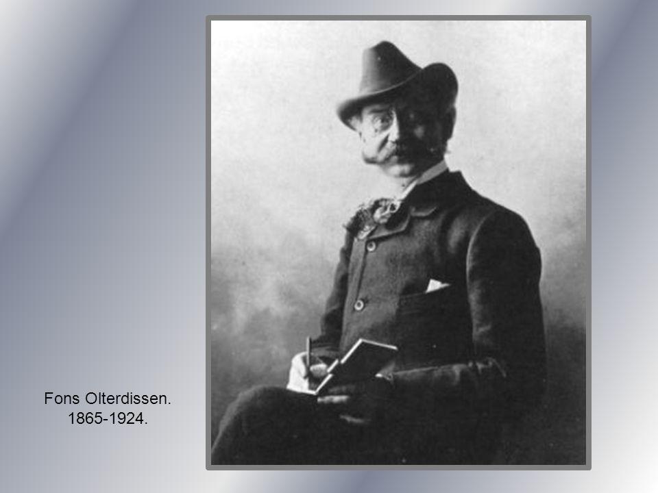 Fons Olterdissen. 1865-1924.