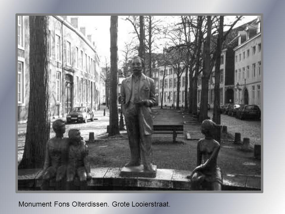 Monument Fons Olterdissen. Grote Looierstraat.