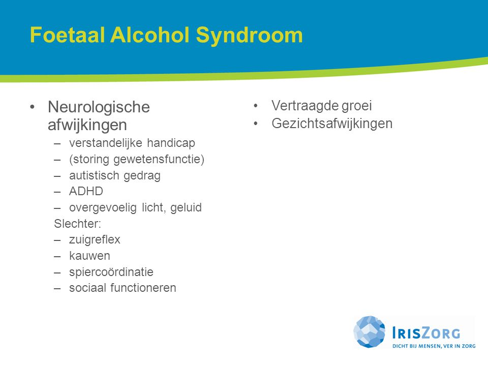Foetaal Alcohol Syndroom