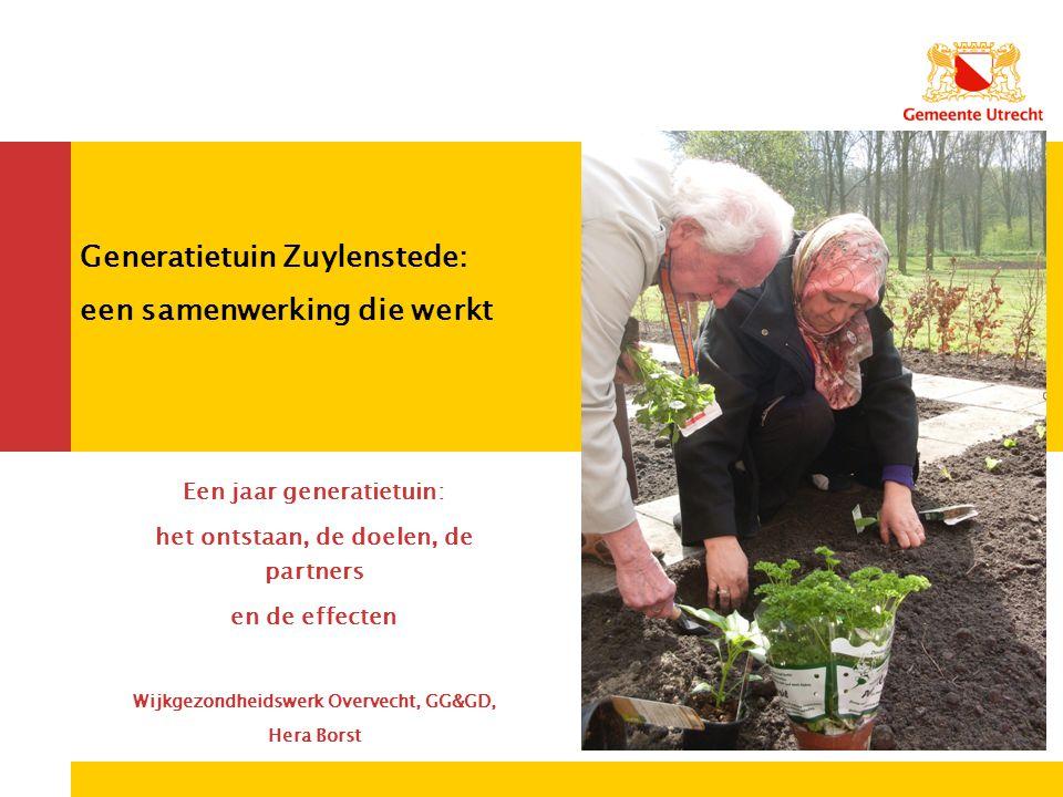 Generatietuin Zuylenstede: een samenwerking die werkt
