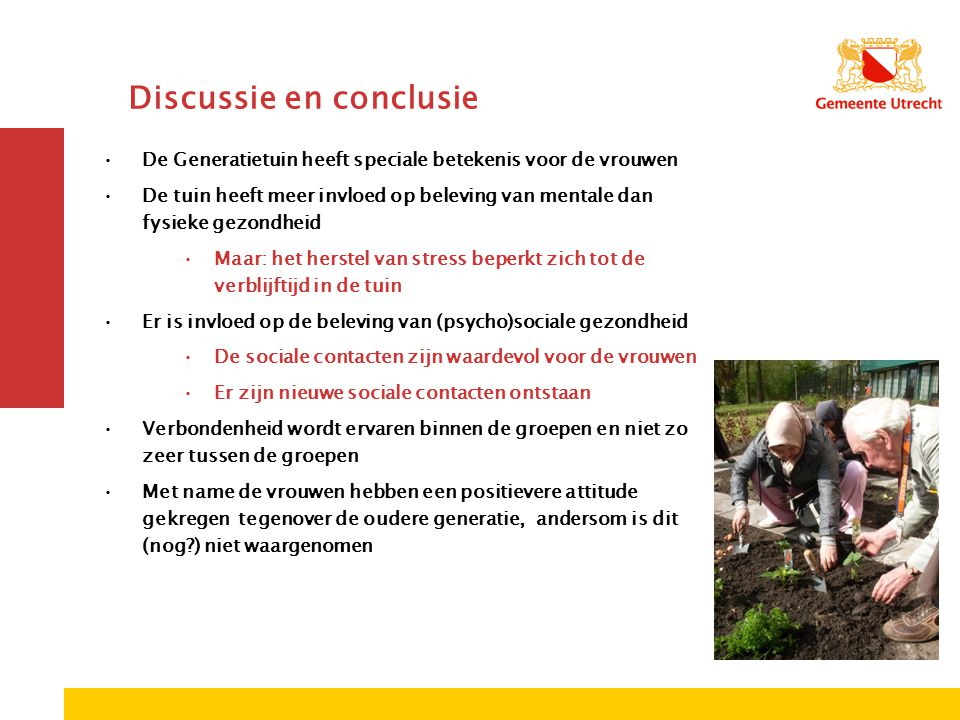 Discussie en conclusie