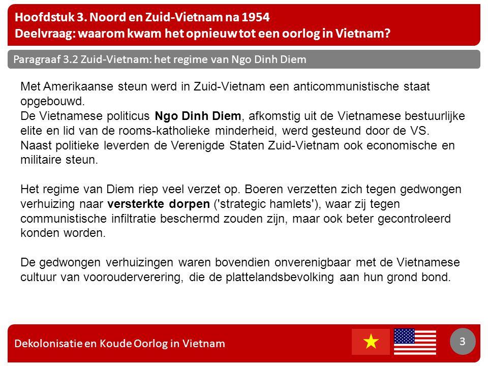Hoofdstuk 3. Noord en Zuid-Vietnam na 1954