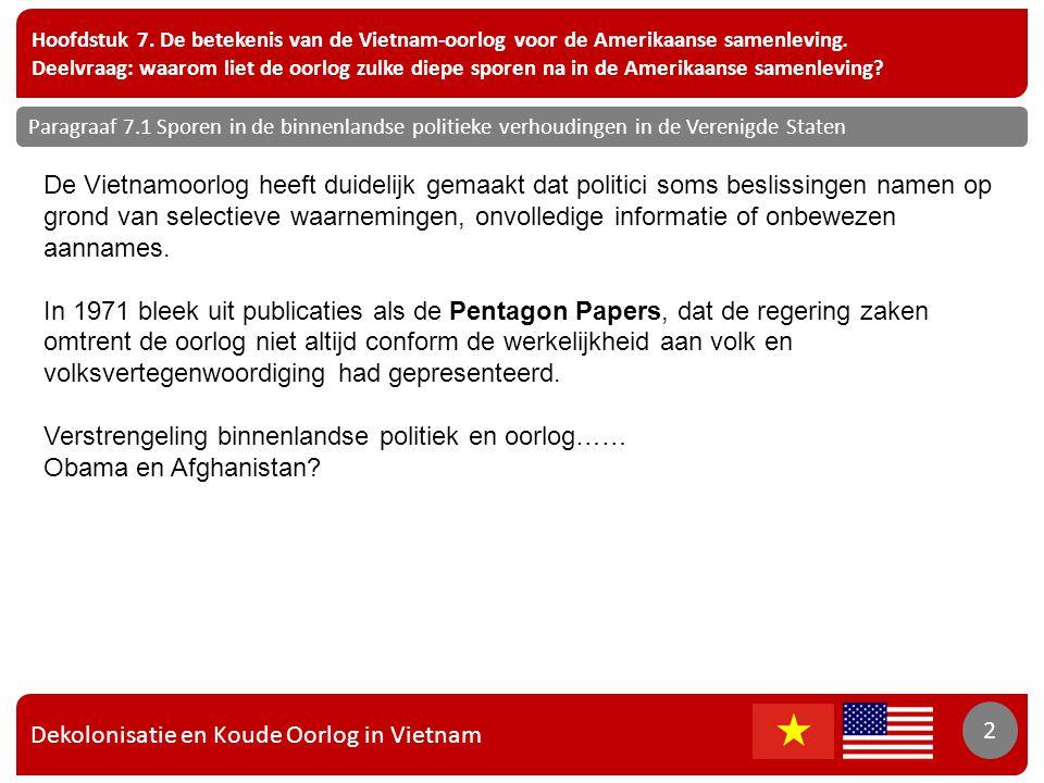Verstrengeling binnenlandse politiek en oorlog…… Obama en Afghanistan