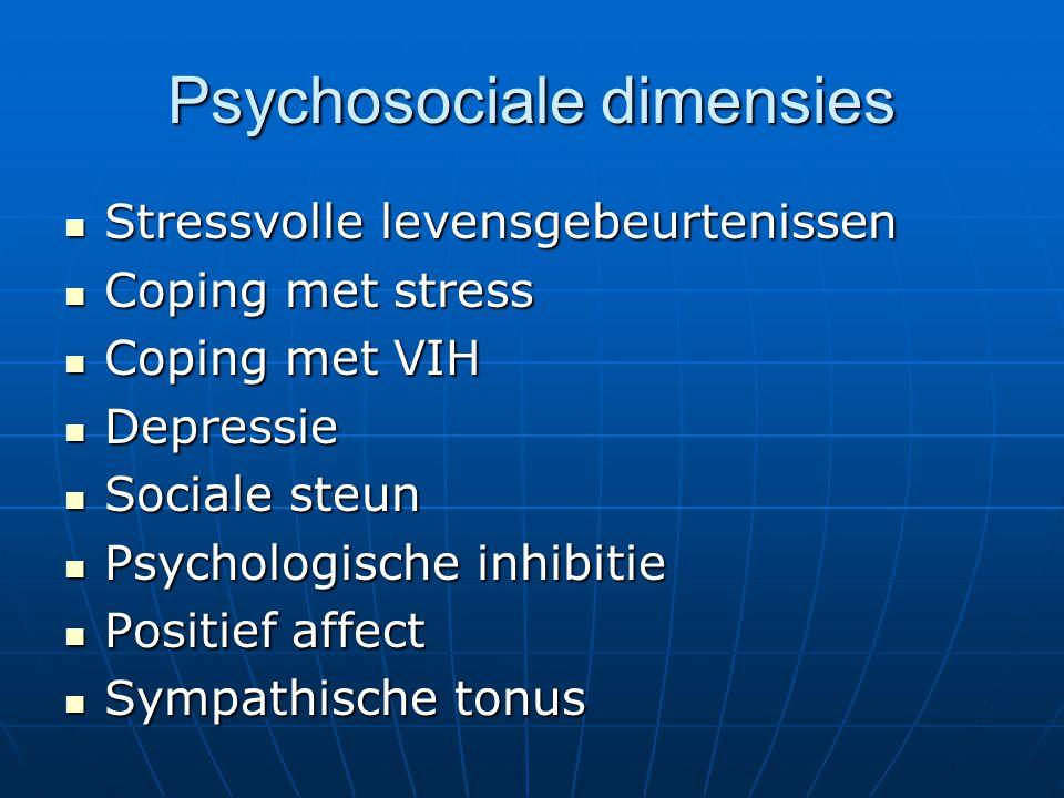 Psychosociale dimensies
