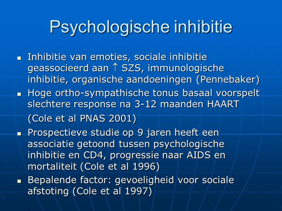 Psychologische inhibitie