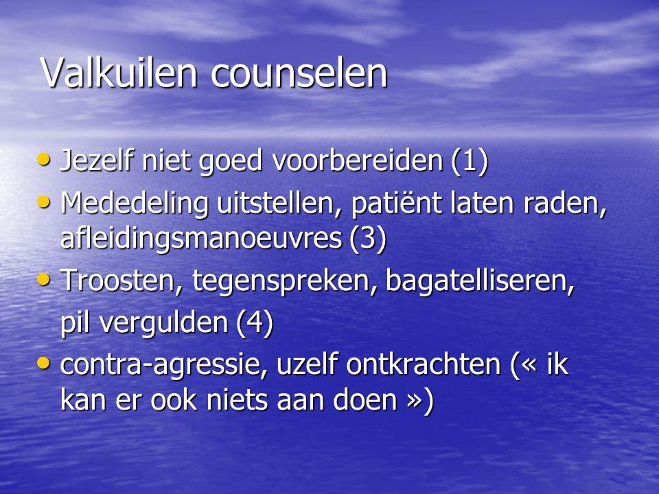 Valkuilen counselen Jezelf niet goed voorbereiden (1)