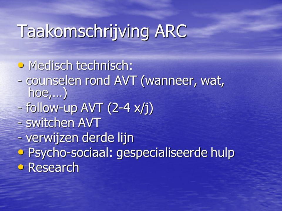 Taakomschrijving ARC Medisch technisch:
