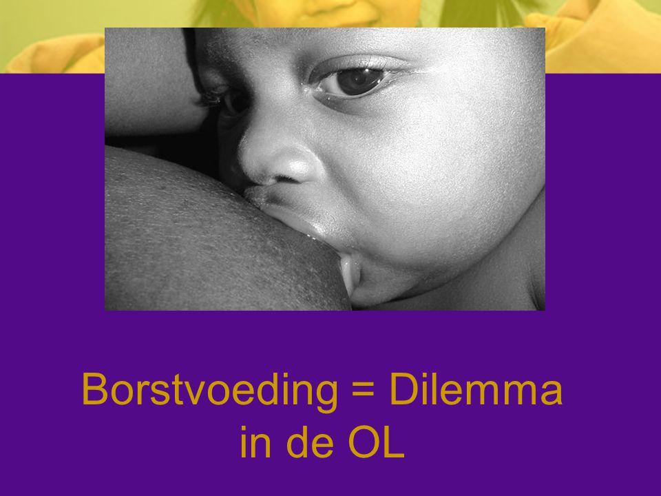 Borstvoeding = Dilemma in de OL