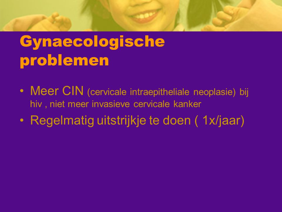 Gynaecologische problemen