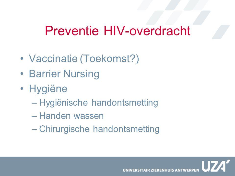 Preventie HIV-overdracht