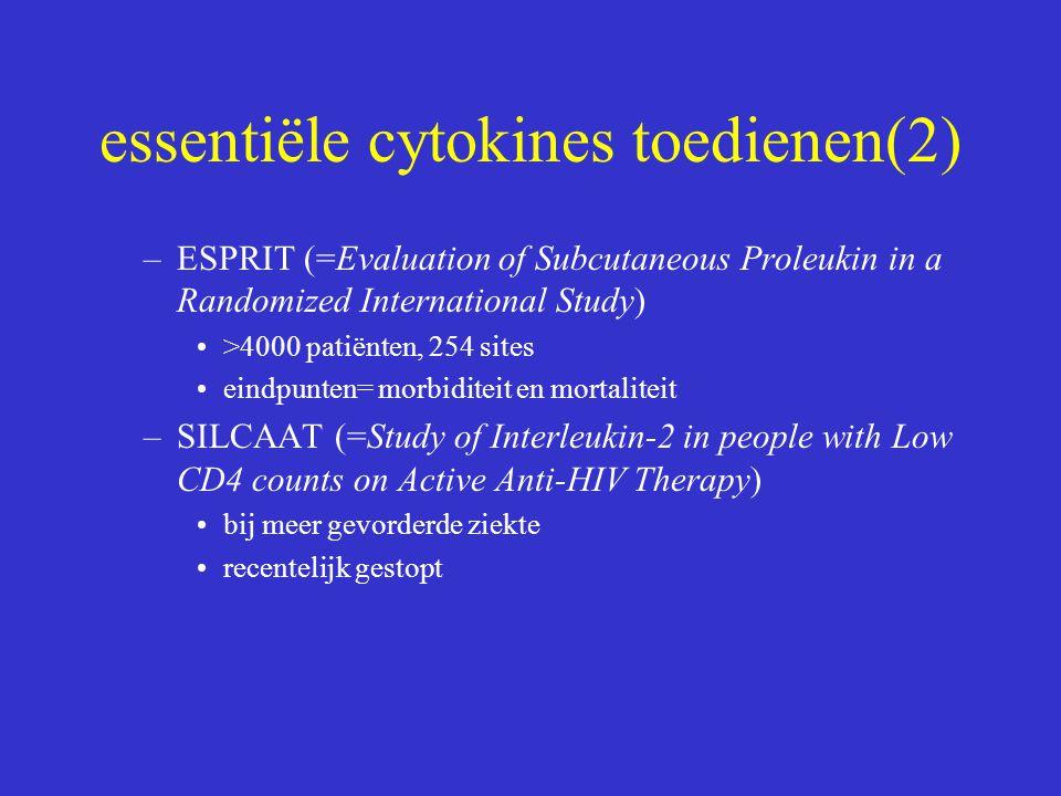 essentiële cytokines toedienen(2)