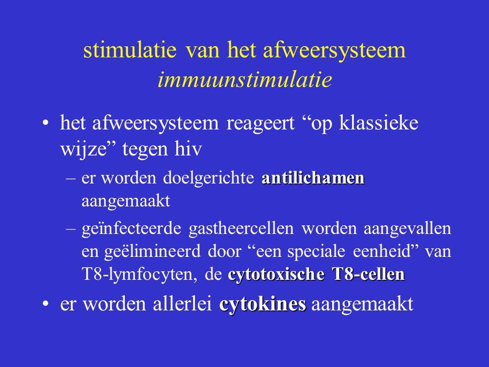 stimulatie van het afweersysteem immuunstimulatie