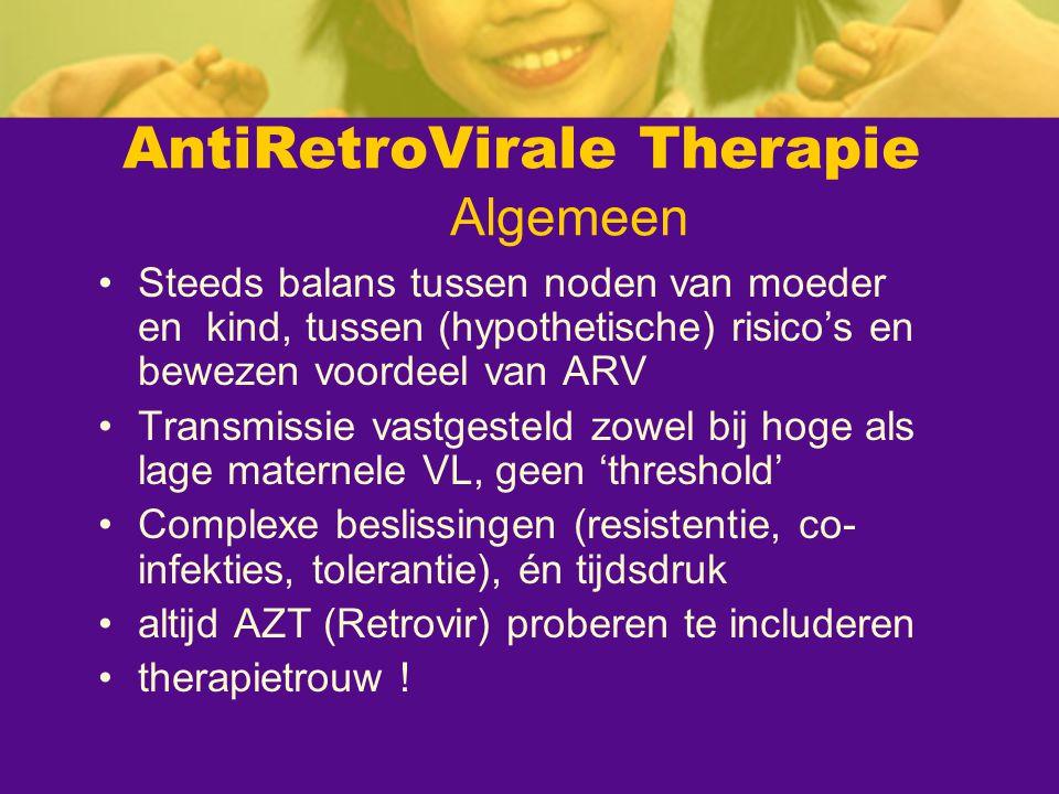 AntiRetroVirale Therapie Algemeen