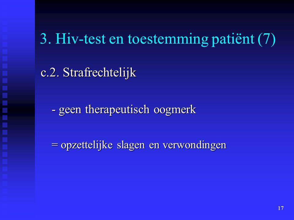 3. Hiv-test en toestemming patiënt (7)