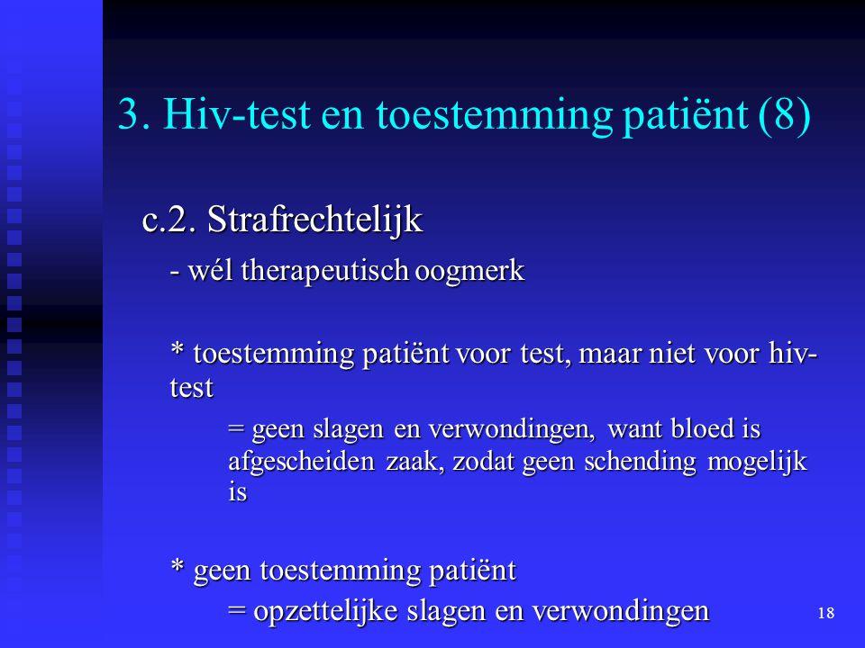 3. Hiv-test en toestemming patiënt (8)