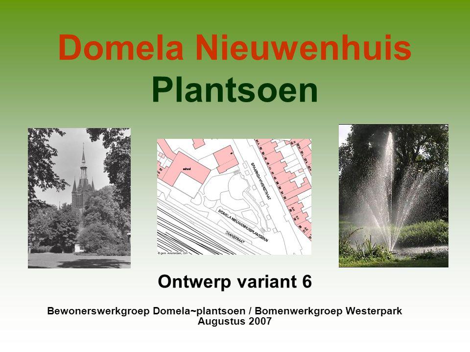 Domela Nieuwenhuis Plantsoen