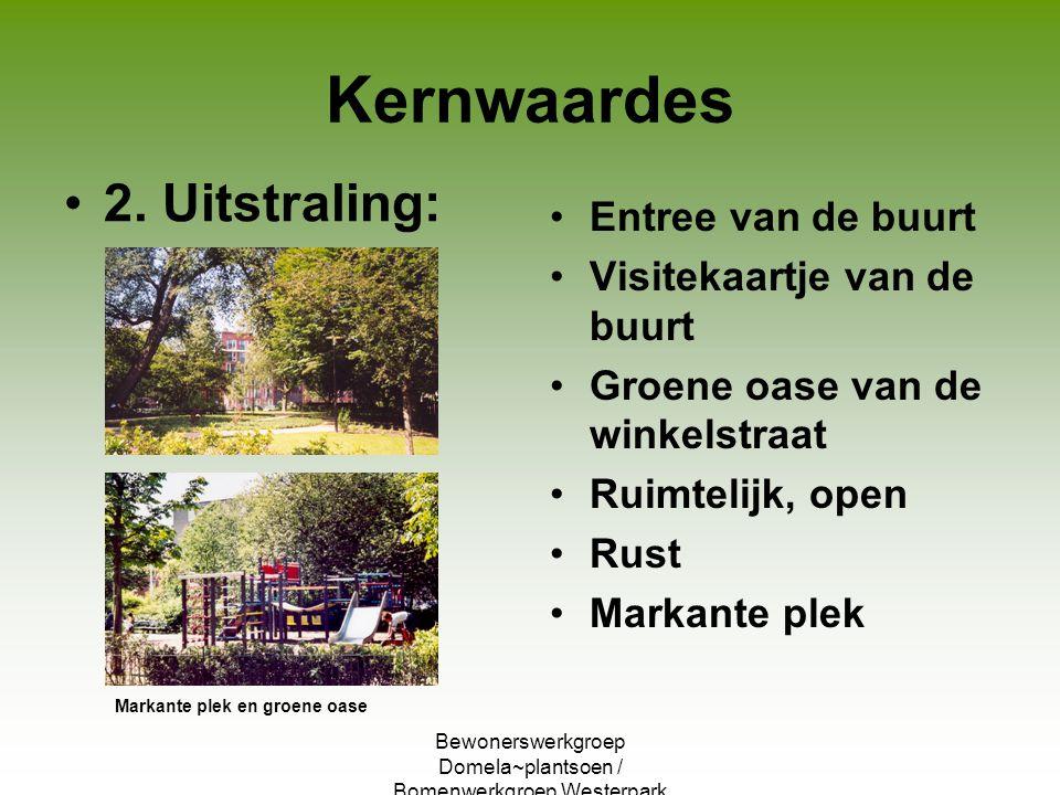 Bewonerswerkgroep Domela~plantsoen / Bomenwerkgroep Westerpark