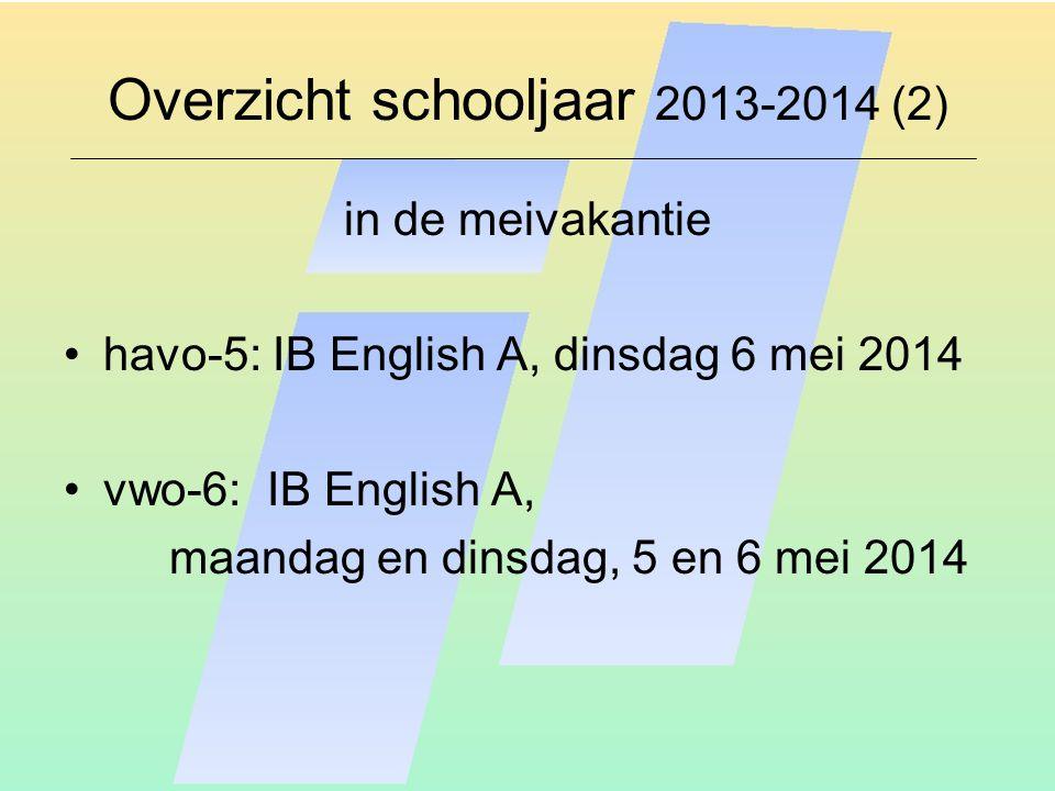 Overzicht schooljaar 2013-2014 (2)