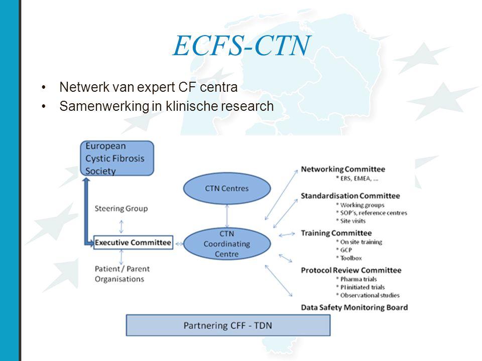 ECFS-CTN Netwerk van expert CF centra