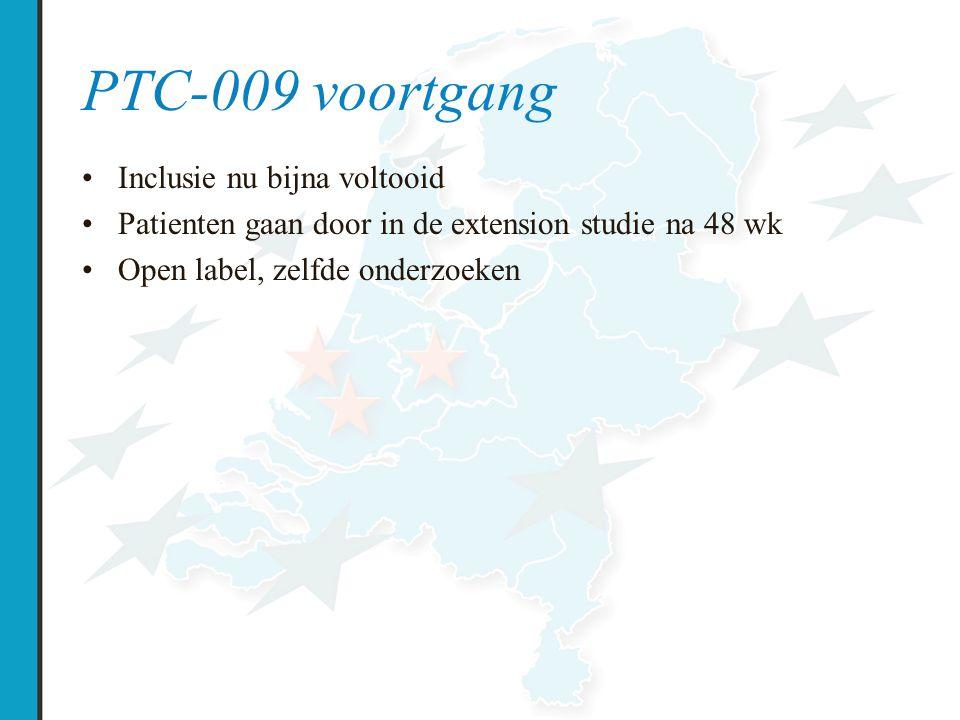 PTC-009 voortgang Inclusie nu bijna voltooid
