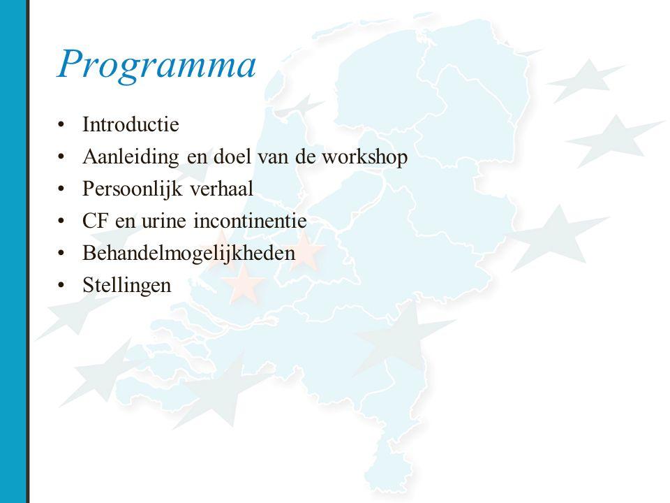 Programma Introductie Aanleiding en doel van de workshop