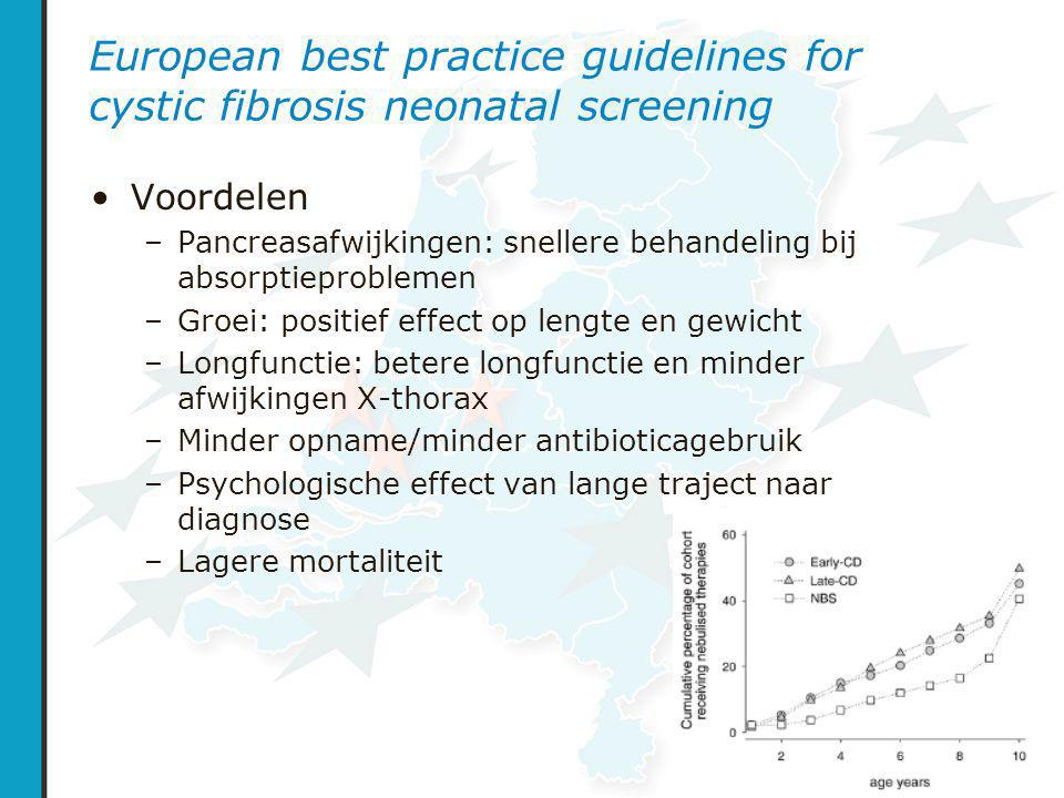 European best practice guidelines for cystic fibrosis neonatal screening
