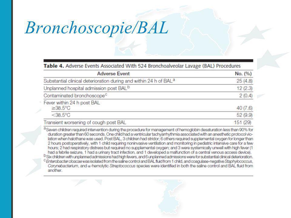 Bronchoscopie/BAL